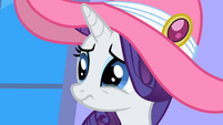 Rarity tears up S2E09