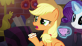 Applejack asks about the Midsummer Theatre Revival S5E16.png
