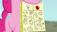 Pinkie Pie score sheet S4E03