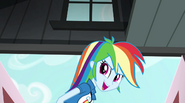 """Rainbow Dash """"Let's go win us a Battle of the Bands"""" EG2"""