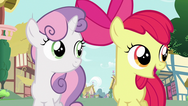 """File:Apple Bloom """"everywhere you look"""" S6E19.png"""