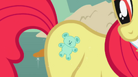 Apple Bloom teddy fake cutie mark S1E12