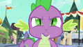 Spike acknowledging Twilight S3E2.png