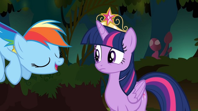 File:Rainbow Dash 'I'm pretty sure we'll know it when we see it' S4E02.png