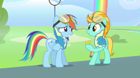 Rainbow Dash hey not bad S3E7