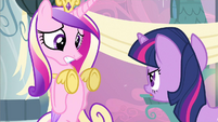 Princess Cadance cornered S2E25