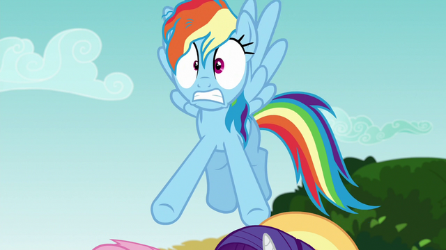 File:Rainbow Dash hears Pinkie Pie's outburst S6E21.png