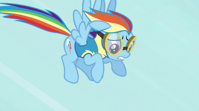 File:Rainbow Dash slowing down S3E7.png
