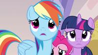 Rainbow Dash the wrong pony S3E12