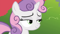 Sweetie Belle smiling S4E15