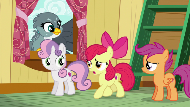 "File:Apple Bloom ""hold on just a hoofstep"" S6E19.png"