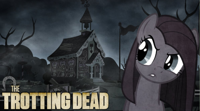 File:FANMADE Pinkie Pie The Trotting Dead.png