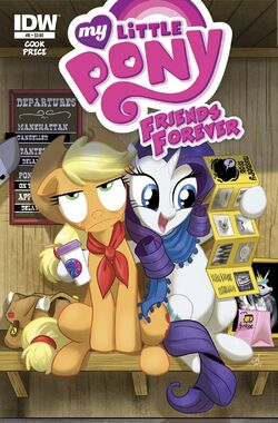Friends Forever issue 8 cover A