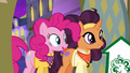 Pinkie and Saffron return to The Tasty Treat S6E12.png