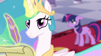 Celestia looking up S3E2