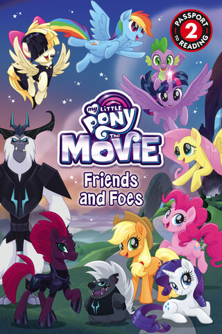 File:MLP The Movie Friends and Foes cover.jpg