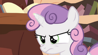 Magic spark on Sweetie's horn S4E15