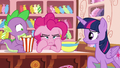 "Pinkie Pie ""Rarity was a real wet blanket"" S6E22.png"
