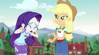 "Rarity ""Camp Everfree needs a runway!"" EG4"