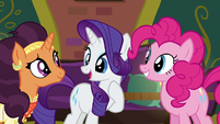 "Rarity ""why don't I stay behind"" S6E12"