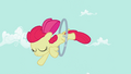 Apple Bloom jumping through the hoop S2E6.png