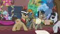 Dr. Caballeron leading his henchponies S6E13.png
