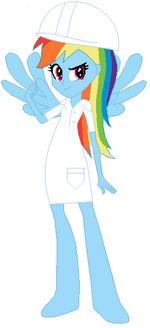 FANMADE Rainbow Dash Human RFC