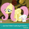 Fluttershy and Angel promotional S4E14.png