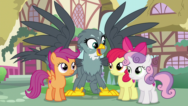 """File:Gabby singing """"CMCs, you're gonna help me"""" S6E19.png"""