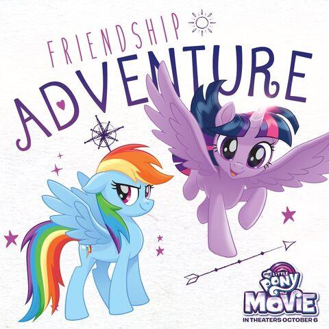 "File:MLP The Movie ""Friendship Adventure"" promotional image.jpg"