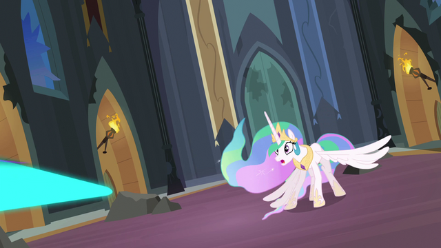 File:Magic beaming towards Princess Celestia S4E02.png