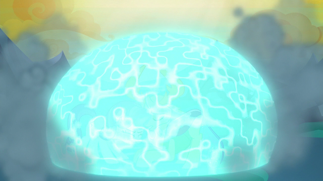 File:Starlight and Thorax protected by magic bubble S6E26.png