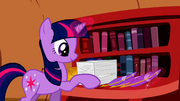 Twilight Sparkle checking off stuff on her to-do list S2E3.png