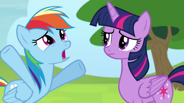 "File:Rainbow ""we're still gonna qualify"" S4E10.png"