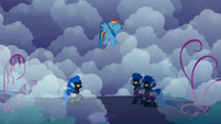Rainbow Dash excited about the Shadowbolts' offer S1E02