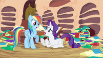 Rarity & Rainbow Dash do something S2E21