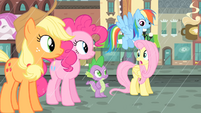 Fluttershy 'We've gotta help her find a cab, now!' S4E08