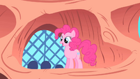 Pinkie Pie describing a sonic rainboom S1E16