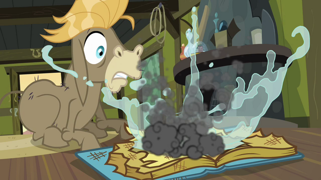 File:Pinkie Pie puts out the fire S2E18.png