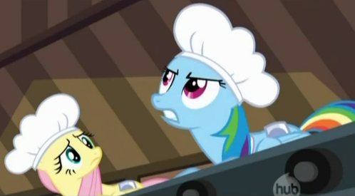 File:Rainbow Dash tells Applejack to start the machinery S02E14.png