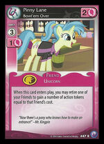 Pinny Lane, Bowl'em Over card MLP CCG