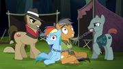 Rainbow and Quibble bound in chains S6E13