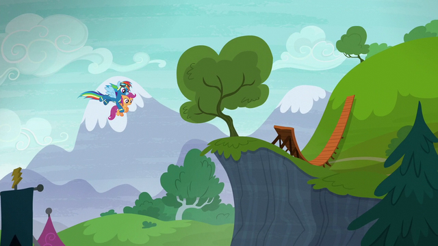 File:Rainbow carries Scootaloo to a small cliff S6E7.png