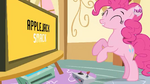 Hub Promo - 8 bit commercial Pinkie celebrating