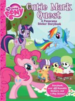 My Little Pony Cutie Mark Quest sticker storybook cover