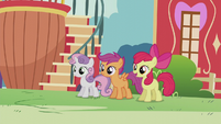"Apple Bloom ""I've been thinkin', Crusaders"" S5E18"