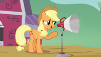 Applejack 'and some fritter makin' S3E08