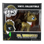 Funko Dr. Hooves with red tie vinyl figurine packaging
