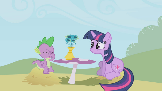 """File:Spike """"you're still on that?"""" S1E03.png"""