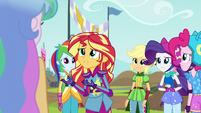 "Sunset Shimmer ""don't just want to win"" EG3"